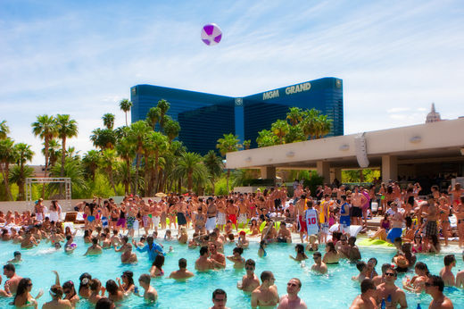 Wet Republic at the MGM Grand