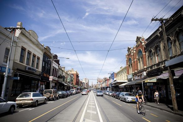 Brunswick Street in Fitzroy is home to marvellous shopping and dining (©Visit Victoria)