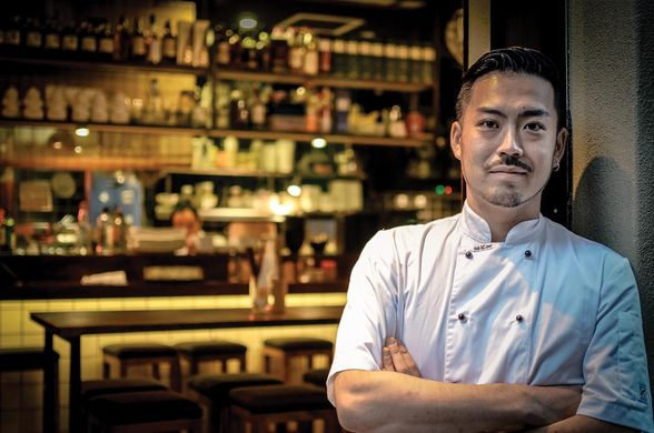 Shota Sato is the head chef at the new Osaka Trading Co., Sydney, Australia