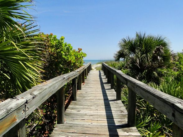 Cocoa beach public access
