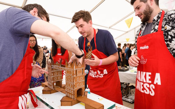 Great Architectural Bake-off, London, UK