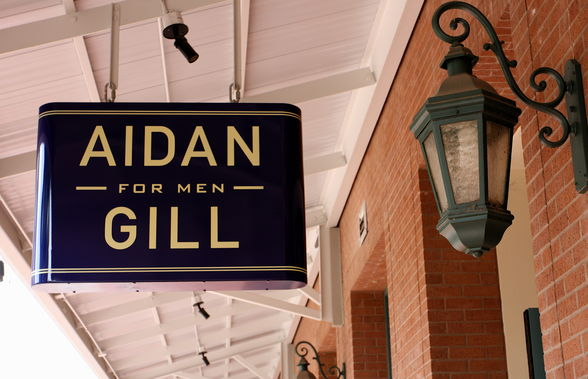 Aidan Gill For Men barber shop in New Orleans, Louisiana. (©TravelingOtter/Flickr, Creative Commons)