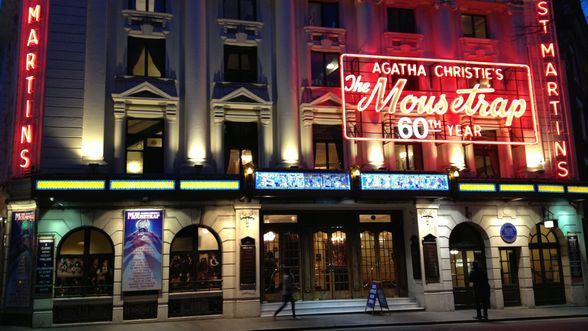 The Mousetrap Theatre in West End, London