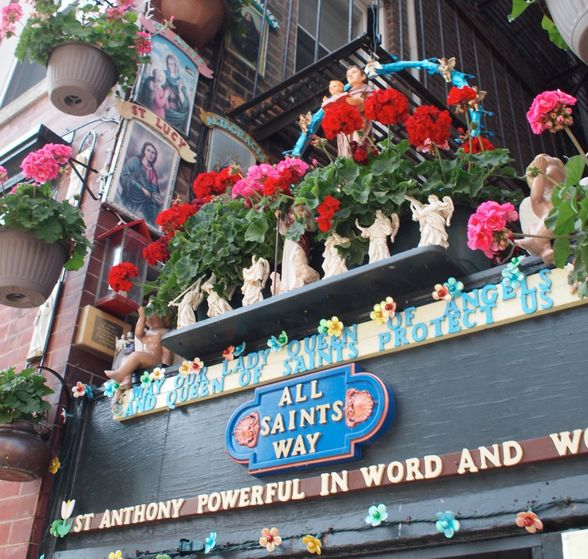 All Saints Way in the North End (©Anna Hanks/Creative Commons license Flickr)