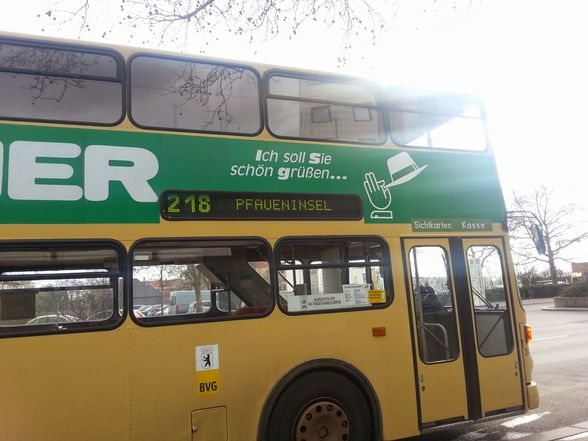 """Antique buses can be taken from U Theodor-Heuss-Platz, from which they follow a scenic route through <a href=""""https://www.wheretraveler.com/berlin/grunewald-hunting-palace"""" target=""""_blank"""">Grunewald</a> forest and along <a href=""""https://www.wheretraveler.com/berlin/wannsee-beach"""" target=""""_blank"""">Wannsee</a> lake."""