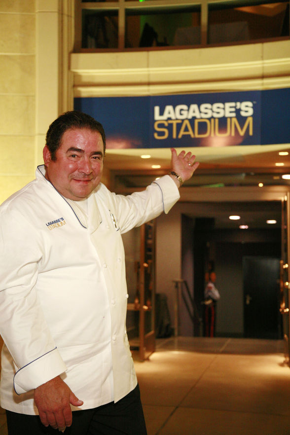Bam! Emeril does a sports restaurant in Vegas (©Palazzo)