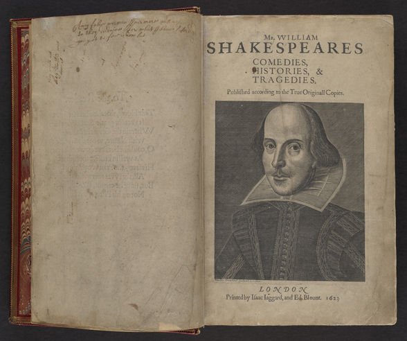 Shakespeare's First Folio at the Boston Public Library