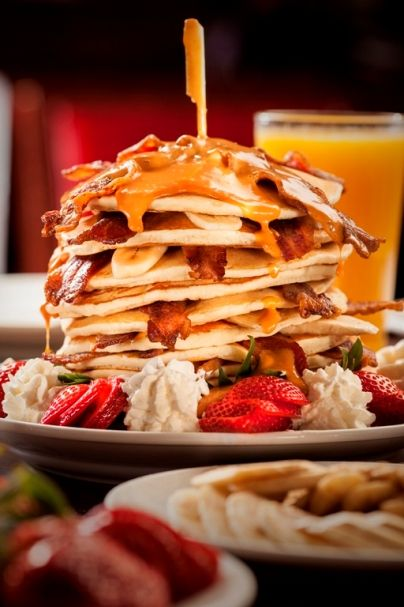 Lucky we tried this pancake stack (©Brian Brown)