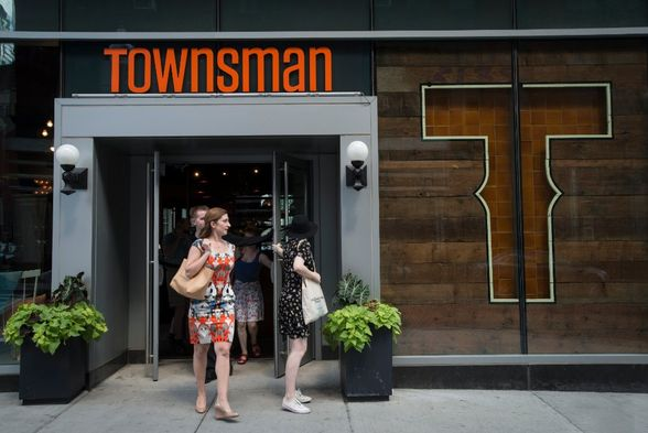 Townsman, one of DTX's latest additions to its dining scene (©Paul Gelsobello)