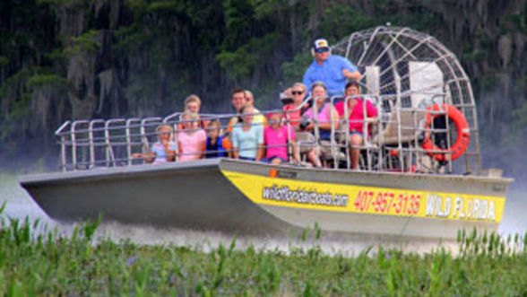 Airboat Ride at Wild Florida