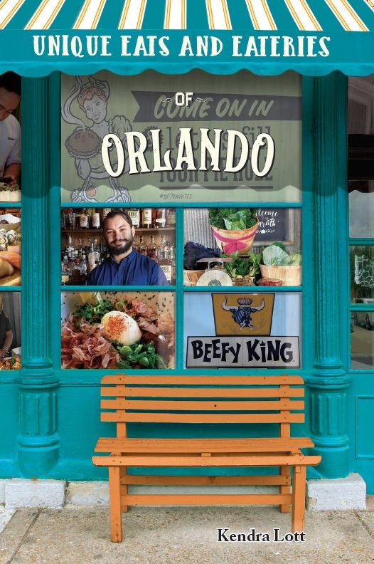Cover of Unique Eats and Eateries of Orlando Book