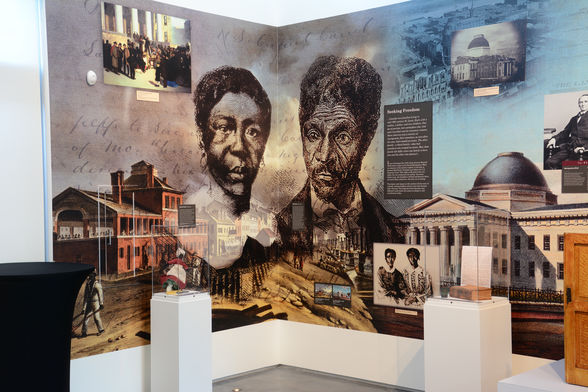 Harriet and Dred Scott in the Field House Museum