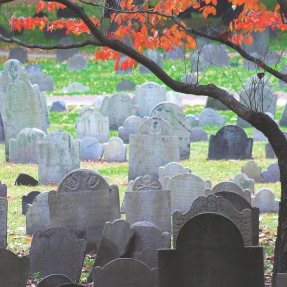 Granary Burying Ground (©George Burba/istockphoto)