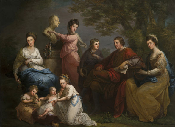 Angelica Kauffman The Family of the Earl of Gower