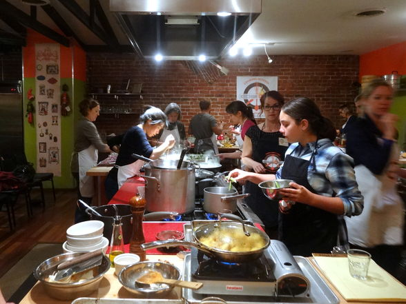 Kitchen on Fire cooking class