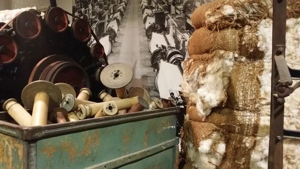 Cotton Machine at the Levine Museum of the New South