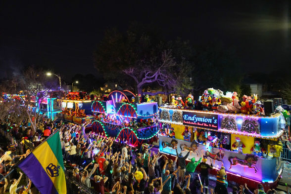 Endymion parade New Orleans