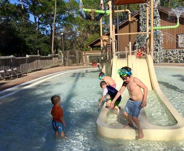 First time campers take on disney 39 s fort wilderness wheretraveler for Meadow swimming pool fort wilderness