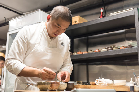 Sung Anh, worked at Michelin-starred French Laundry, Benu and Urasawa