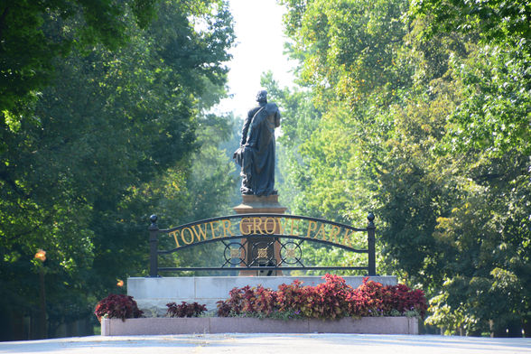 Tower Grove Park on South Grand