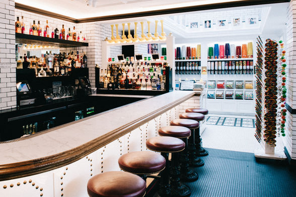 Sugar Factory bar in the Meatpacking District, NYC