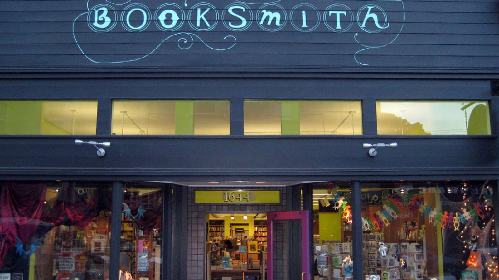 Haight-Ashbury, San Francisco bookstore Booksmith