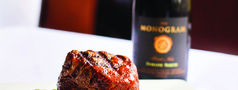 Steak and wine at Mo's ... A Place for Steaks
