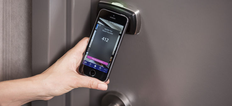 Use your phone for Starwood Hotels keyless entry