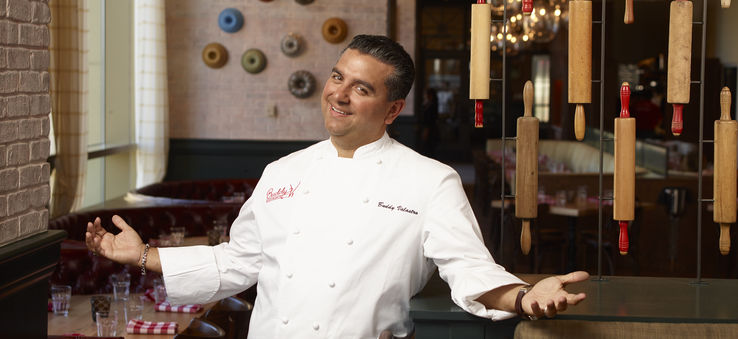 "The ""Cake Boss"" is on the Strip, and his cuisine is as unforgettable as his personality 