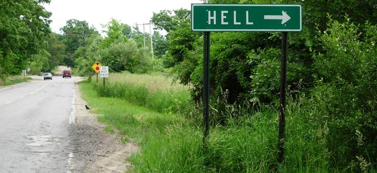 Places with strange names: Hell, Michigan