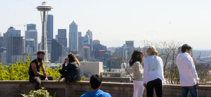 Kerry Park in Queen Anne