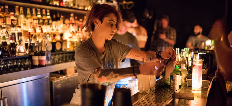 Mixologist at Coyo Taco Tequila Bar, Wynwood Miami