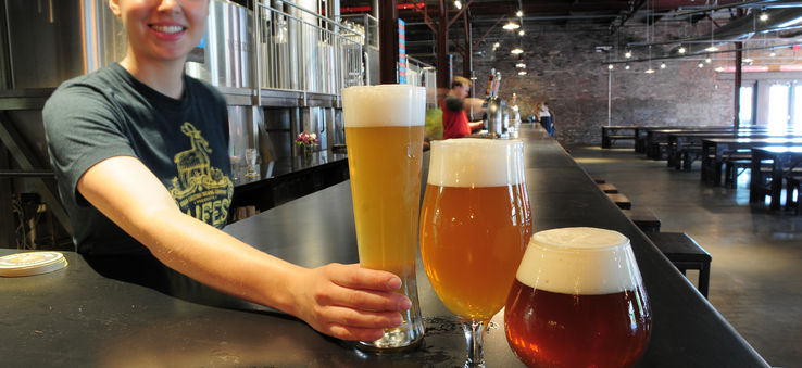 Beers from Urban Chestnut Brewing