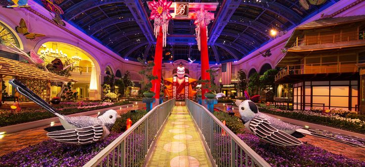 Bellagio Conservatory in Las Vegas