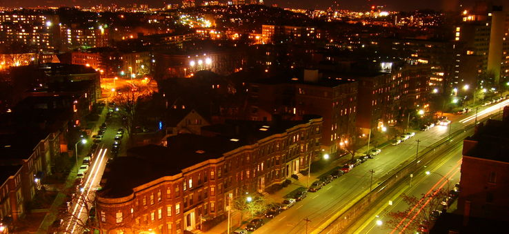 A night owl's view over Allston