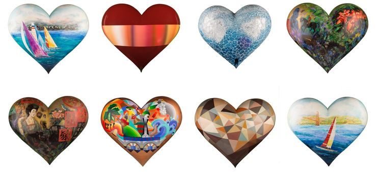 New hearts soon to be displayed in San Francisco