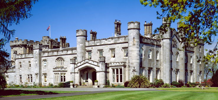 Dundas Castle in Scotland