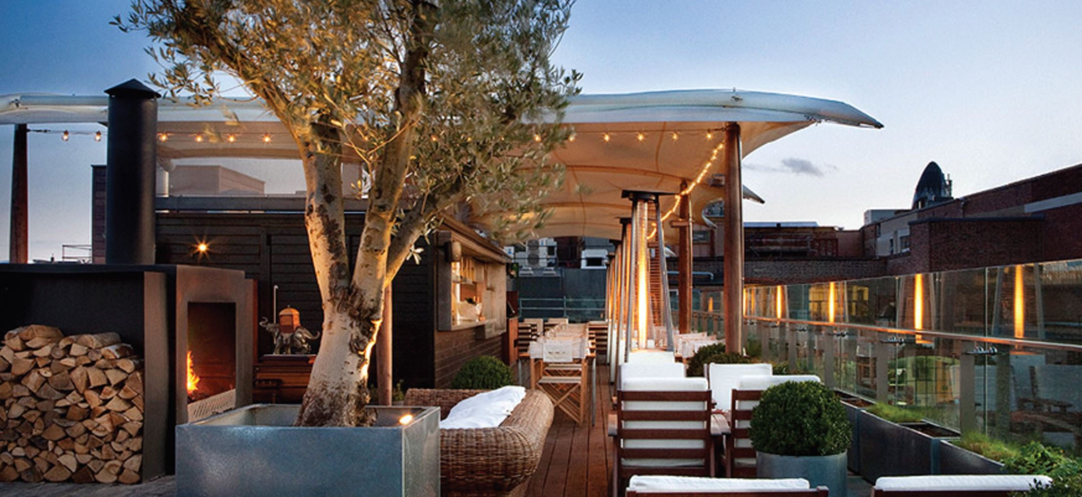 Six of the Best Rooftop Bars in London