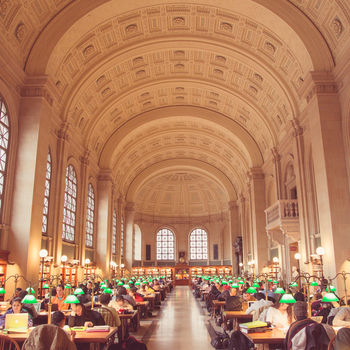 Boston Public Library Author Talks & Lectures Series