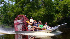 Airboat Adventures tour in New Orleans, Louisiana