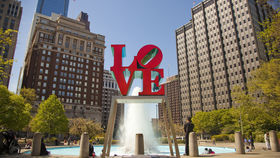 Love Park, JFK Plaza in Philly