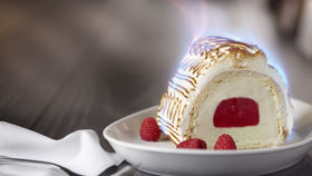 Baked Alaska at DBGB Kitchen and Bar