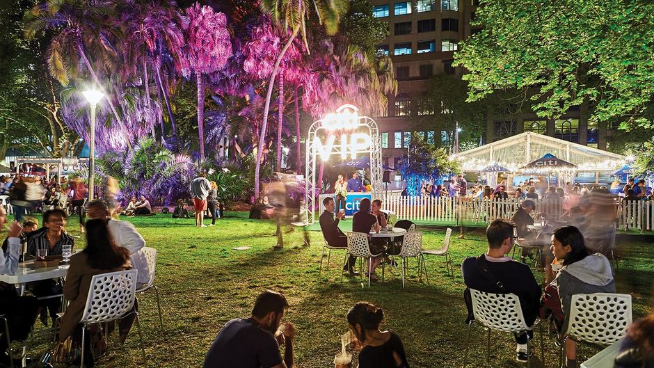 The Night Noodle Markets in Hyde Park