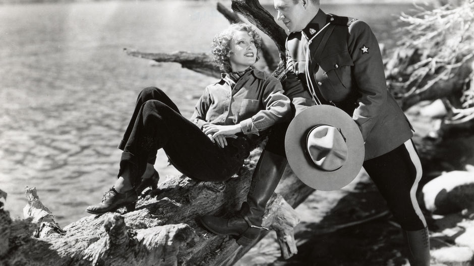 """Jeanette MacDonald and Nelson Eddy in """"Rose Marie"""" (1936)"""