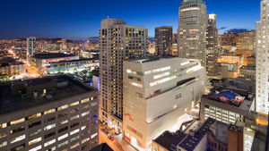 The newly expanded SFMOMA designed by Snøhetta