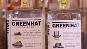 Pour some Green Hat in your gin rickey