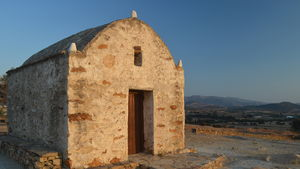 An ancient Christian church on the isle of Naxos, Greece