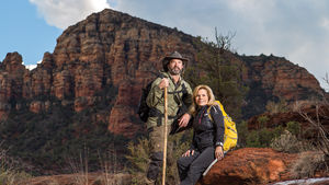 Greg and Gracie Stevenson of The Hike House in Sedona