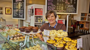 Jody Hall, owner of Cupcake Royale in Seattle