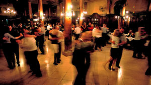 Traditional milonga in Buenos Aires, Argentina